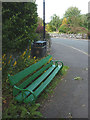 SD4674 : Commemorative bench, Stankelt Road, Silverdale by Karl and Ali