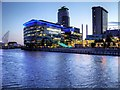 SJ8097 : North Bay and MediaCityUK by David Dixon
