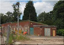 SJ6855 : Queen's Park: derelict building by Stephen Craven