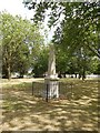 TQ3684 : Obelisk, Victoria Park by Paul Gillett