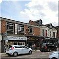SJ8588 : Crown Inn, Cheadle by Gerald England