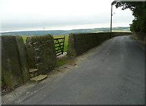 SE0323 : Well Head Lane at Sowerby bridge FP103 by Humphrey Bolton