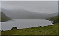 NC2742 : Loch Stack in the rain by Nigel Brown
