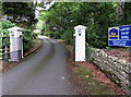 SN0101 : Entrance drive to Lamphey Court Hotel, Lamphey by Jaggery