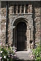 SO6369 : Entrance to Knighton on Teme church by Philip Halling