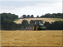 TM3876 : Ploughing at Halesworth by Adrian Cable