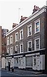 TQ3081 : Terrace of shops, Barter Street, London WC1 by Julian Osley