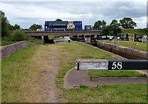 SJ7758 : Hassall Green Bottom Lock No 58 by Mat Fascione