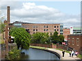 SO8276 : The Piano Building and Slingfield Mills by Chris Allen