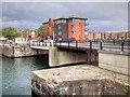 SJ3488 : Liverpool Docks, Queen's Coburg Bridge by David Dixon