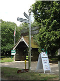 TM1469 : Roadsign on The Street by Geographer