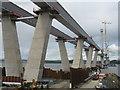 NT1178 : The Queensferry Crossing near Port Edgar by M J Richardson