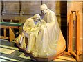 SJ3589 : Holy Family Sculpture, Liverpool Cathedral by David Dixon