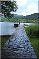 NN5801 : Jetty at the Port of Menteith by Billy McCrorie