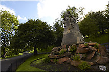 NS5766 : South African War 1899 1900 Kelvingrove Park Glasgow Monument by david cameron photographer