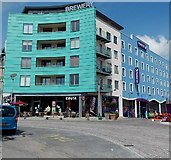 SY6990 : Premier Inn and Costa Coffee, Dorchester by Jaggery