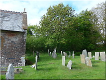 SS6138 : St Michael & All Angels church, Loxhore: churchyard (iv) by Basher Eyre