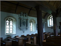 SS6138 : Inside St Michael & All Angels church, Loxhore (B) by Basher Eyre