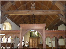 SS6138 : Inside St Michael & All Angels church, Loxhore (E) by Basher Eyre