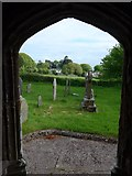 SS6138 : St Michael & All Angels church, Loxhore: south door by Basher Eyre