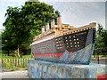 SJ3588 : Replica Titanic, Toxteth by David Dixon