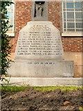 SJ3588 : Martyr Priests Memorial, St Patrick's RC Chapel, Toxteth by David Dixon