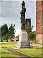 SJ3588 : Priests' Memorial outside St Patrick's Chapel by David Dixon