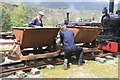 NY3224 : Threlkeld quarry - off the rails by Chris Allen