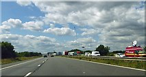 TR1137 : The front of Operation Stack on the M20 motorway by Steve  Fareham