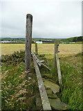 SE0322 : Gate on Sowerby Bridge FP115 (Link C) by Humphrey Bolton