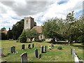 TM1170 : All Saints Church, Stoke Ash by Adrian Cable