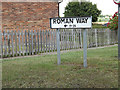 TM1170 : Roman Way sign by Adrian Cable