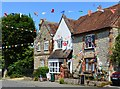 SP7311 : Village shop, Cuddington, Buckinghamshire by Oswald Bertram