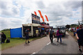 SP6741 : Fast food outlets at Hanger Straight, Silverstone by Ian S