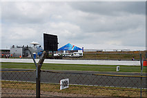 SP6741 : The Lakeside building at Silverstone by Ian S