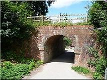 SU4828 : Former railway underbridge, near Tun Bridge by Christine Johnstone