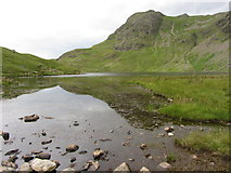 NY2807 : Harrison Stickle and Stickle Tarn by Gareth James