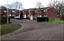 ST3096 : Eastern arm of Glaslyn Court, Croesyceiliog, Cwmbran by Jaggery