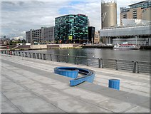 SJ8097 : Number 9 Dock, Salford Quays by David Dixon