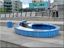 SJ8097 : Nine Dock (but it could be a six!) Sculpture by David Dixon