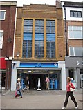 SO8554 : Art Deco facade, Worcester High Street by Philip Halling