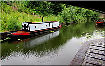SO9491 : Narrowboat Coventry on the canal in the Black Country Living Museum, Dudley by Jaggery
