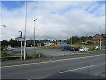 SJ2207 : Car Park by Mill Lane bridge by John Firth