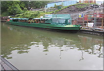 SO9491 : Electra on the Dudley Canal  by Jaggery