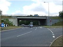 TG2103 : A47 bridge over the A140 by JThomas
