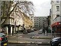 TQ3082 : Birkenhead Street across Euston Road at King's Cross, London by Robin Stott