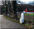 ST1177 : Old milestone in St Fagans National History Museum, Cardiff by Jaggery