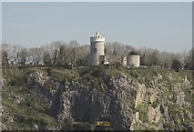ST5673 : View of Bristol Observatory by Anthony O'Neil
