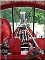 """TL0108 : """"Kitchener""""  Traction Engine - The driver's view by Rob Farrow"""
