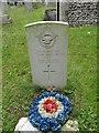 TG0441 : CWGC headstone to Stanley William KELLOW (DFC) by Adrian S Pye